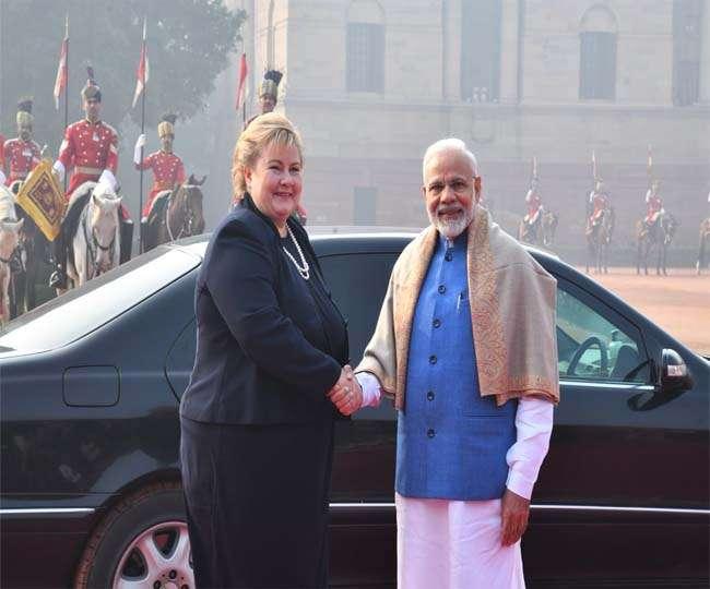 भारत और नॉर्वे के सम्बन्धों में व्यापार और निवेश का काफी अहम योगदानः पीएम मोदी