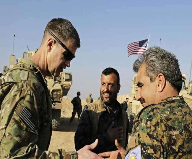अमेरिकी फौज का सीरिया पर हमला, 100 से ज्यादा को उतारा मौत के घाट