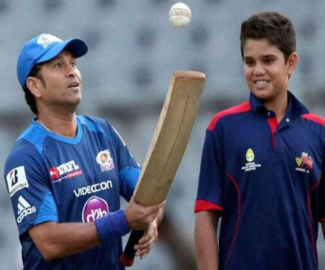 Sachin Tendulkar reaction on Arjun Tendulkar selection in under 19 team