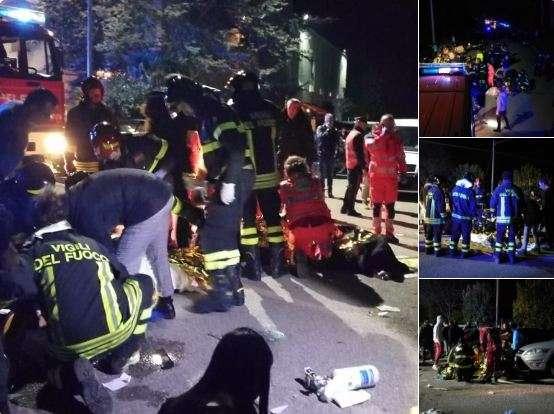 Image result for इटली: नाइट क्लब में मची भगदड़, 6 की मौत और 100 से ज्यादा घायल