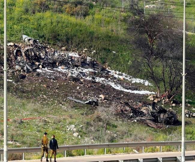 सीरिया में लड़ाकू विमान गिराए जाने के बाद इजरायल ने शुरू की बमबारी