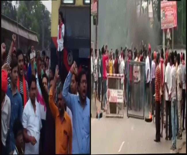 LIVE: हिंसक हुआ भारत बंद, बिहार में गोलीबारी, कई शहरों में धारा 144 लागू