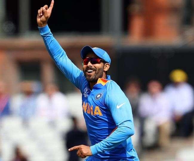 Image result for india vs new zealand world cup 2019 jadeja