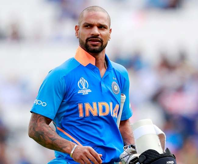 World Cup 2019 Shikhar Dhawan is under the observation of the BCCI medical  team he will continue to be in England