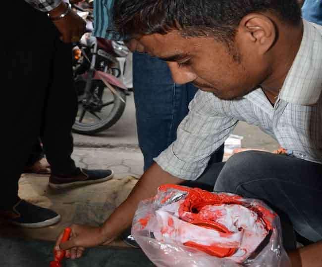 विवाद के बीच प्रेमनगर में 293 अतिक्रमण पर लगाए लाल निशान