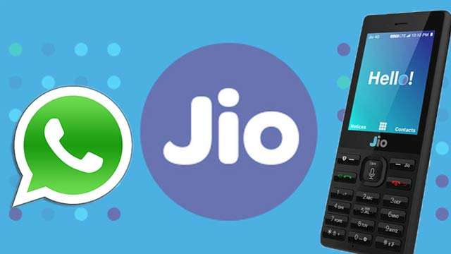 Image result for jiophone whatsapp