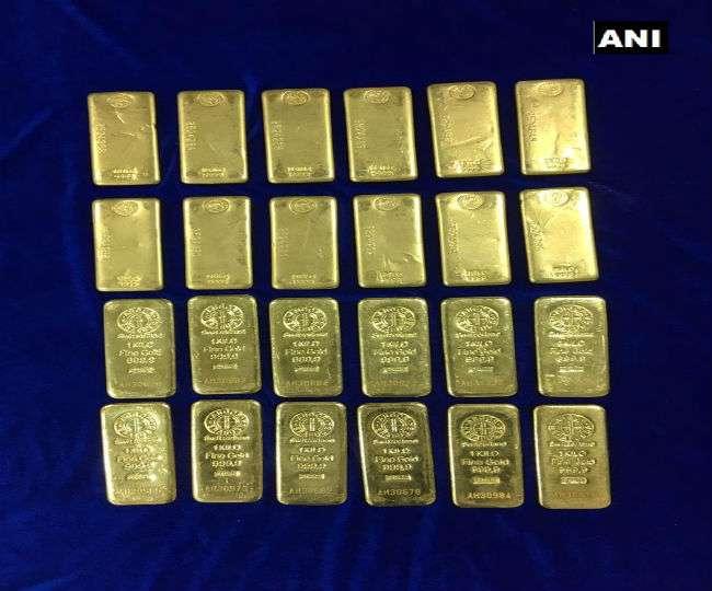 चेन्नई एयरपोर्ट से पकड़ा गया 24 किलोग्राम सोना,दो दक्षिण कोरियाई हिरासत में