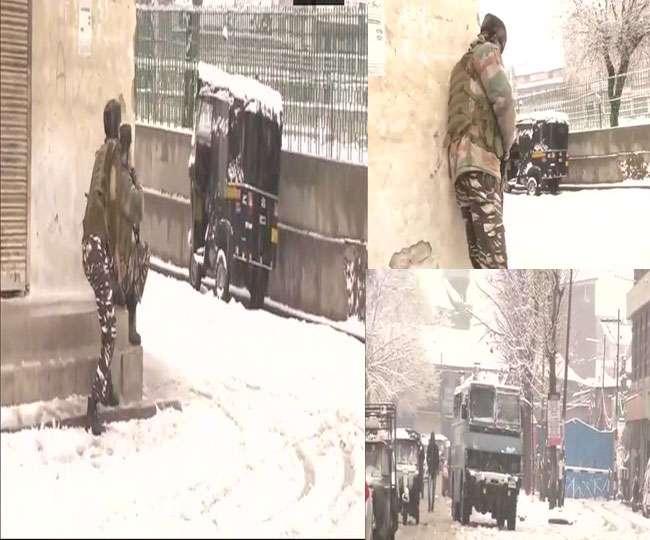 श्रीनगर में CRPF कैंप पर हमला करने आए आतंकियों को सेना ने घेरा, एक जवान शहीद