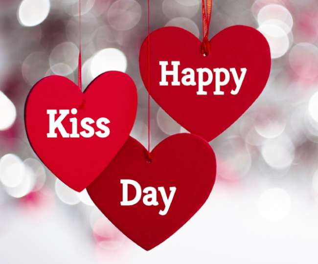 Image result for happy kiss day GIF