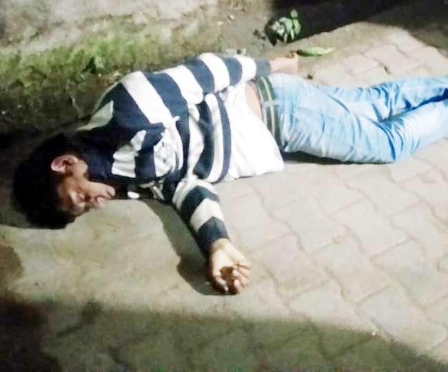 पुलिस ने छापा मारा, बदमाश ने छत से छलांग लगाई, उड़ गए प्राण पखेरू