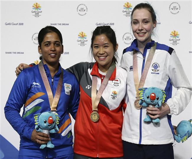 Tejaswini Sawant Won Silver Medal