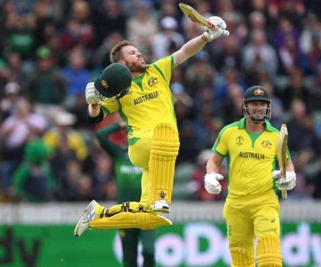 Australia vs Pakistan ICC world cup 2019: डेविड वार्नर को नहीं रोक पाया पाकिस्तान, ठोक डाला शतक