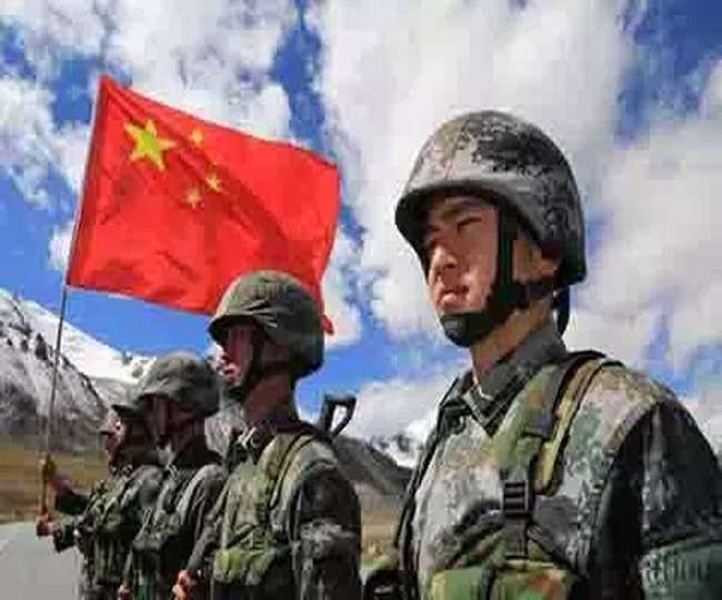 Indian and chinese army face off on ladakh border near the ...