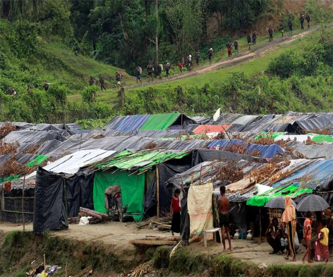 उत्तर कोरिया से लगी सीमा पर चीन ने शरणार्थी शिविरों का जाल बिछाया