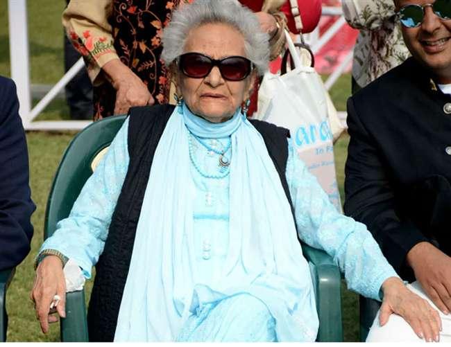 लखनऊ की शान बेगम हामिदा हबीबुल्लाह का 102 वर्ष की आयु में निधन