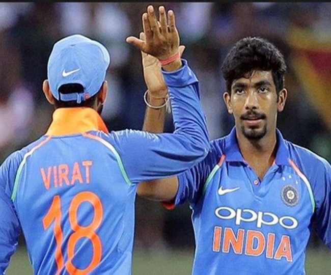Image result for जसप्रीत बुमराह 841 रेटिंग अंकों के साथ नंबर-1 गेंदबाज बने