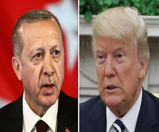 कुर्द लड़ाकों पर हमला हुआ तो तुर्की को आर्थिक रूप से तबाह कर देंगे: डोनाल्ड ट्रंप