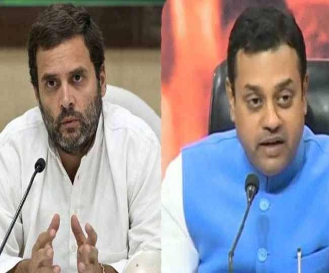 भाजपा ने साधा कांग्रेस पर निशाना, कहा- इच्छाधारी हिंदू हैं राहुल गांधी