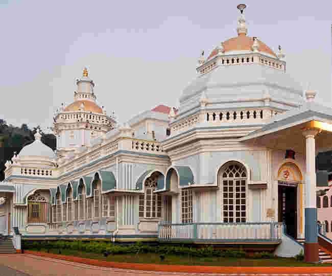 Mangeshi temple a famous Shiva temple in Goa