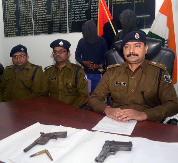आभूषण व्यवसायी हत्याकांड में दो गिरफ्तार