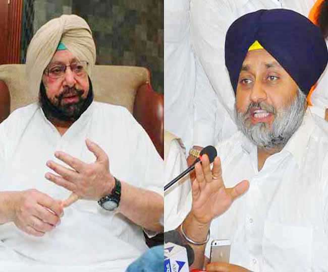 Sukhbir badal should not give lession to rule said captain amrinder singh