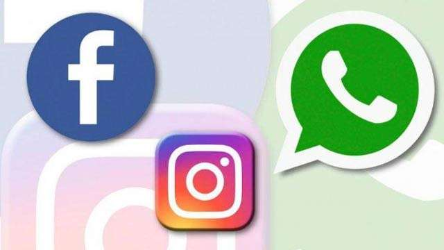 Image result for Facebook, Instagram, & WhatsApp