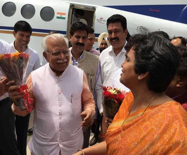 राहुल गांधी के रहते कांग्रेस का नहीं हो सकता भला : मनोहरलाल