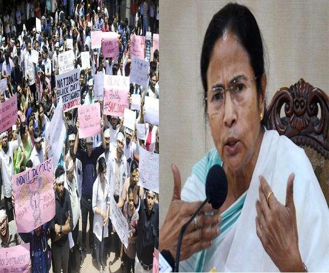 ममता ने बताया राजनीतिक स्टंट, हड़ताल जारी रखने पर अड़े डॉक्टर