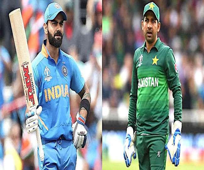 India vs Pakistan ICC world cup 2019 LIVE Score: पाकिस्तान पर सातवीं जीत को बेताब विराट की सेना