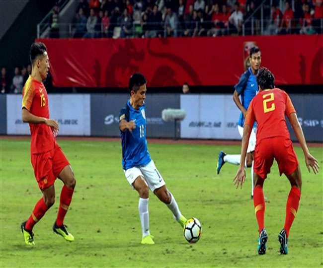 21 वर्ष के बाद दोस्ताना मुकाबले में चीन से भिड़ा भारत, मैच रहा ड्रॉ