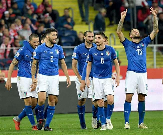 बिराघी के गोल से जीता इटली, यूएफा नेशंस लीग में पोलैंड को 1-0 से हराया