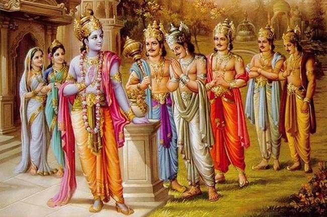 Image result for mahabharat madri aur ashwin kumar