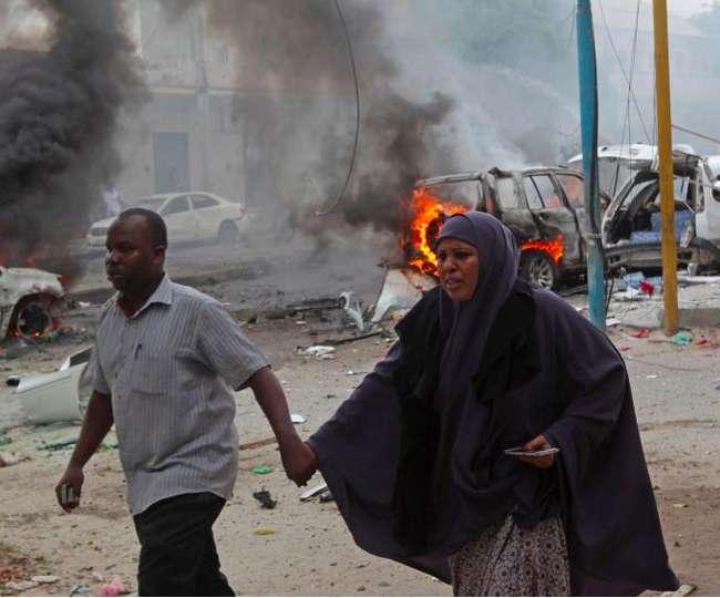 बम धमाकों से दहला सोमालिया, 11 की मौत, अलकायदा से जुड़े अल-शबाब ने जिम्मेदारी ली