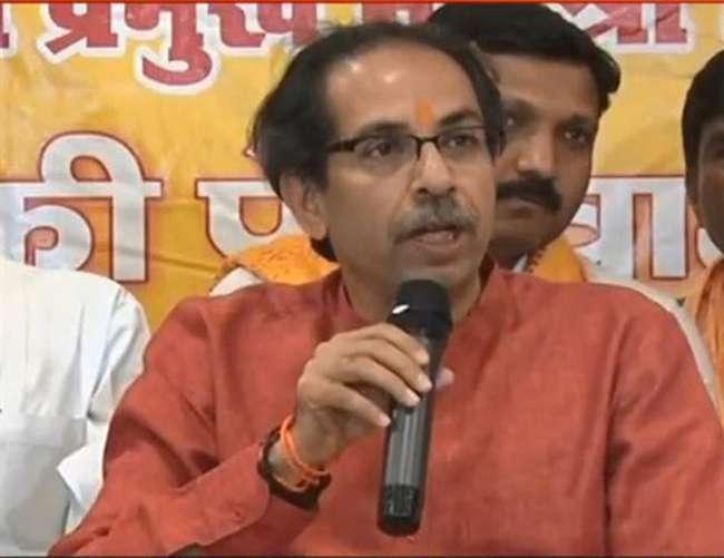 शिवसेना प्रमुख उद्धव ठाकरे ने कहा- Modi हैं तो मुमकिन है, अयोध्या में बनेगा राम मंदिर Ayodhya News