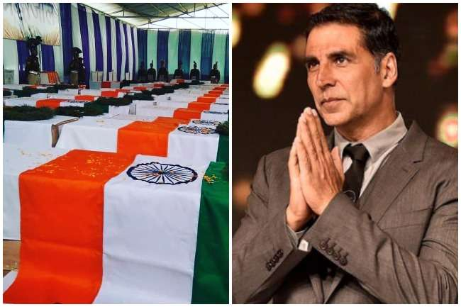 akshay kumar appeals to donate pulwama terror attack martyrs ...