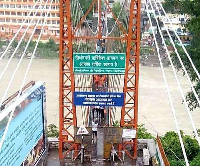 लक्ष्मणझूला पुल में गेट सुविधा से लोगों को राहत, दोबारा आवाजाही को विशेषज्ञों से लेंगे सुझाव