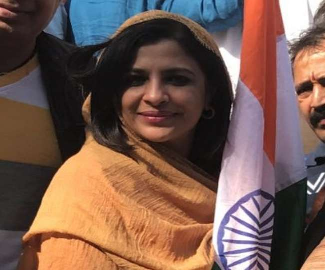 Image result for Shazia Ilmi Clashed with Pakistani Supporters