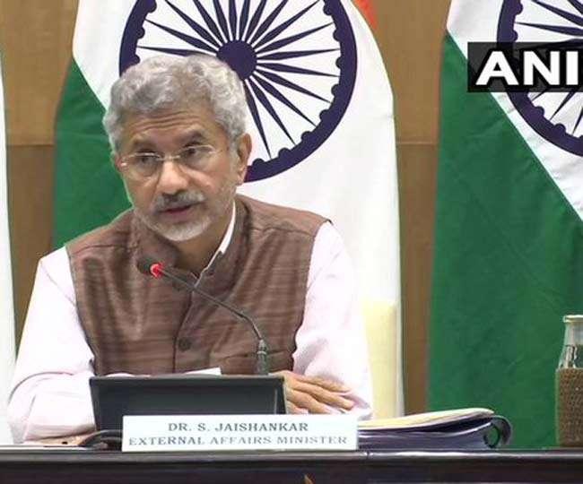 विदेश मंत्री का बड़ा बयान- PoK है भारत का हिस्सा और एक दिन इसे लेकर रहेंगे