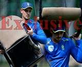 India vs South Africa : ये देखिए, मोहाली टी20 से पहले क्या कर रहे थे साउथ अफ्रीका के कप्तान ?