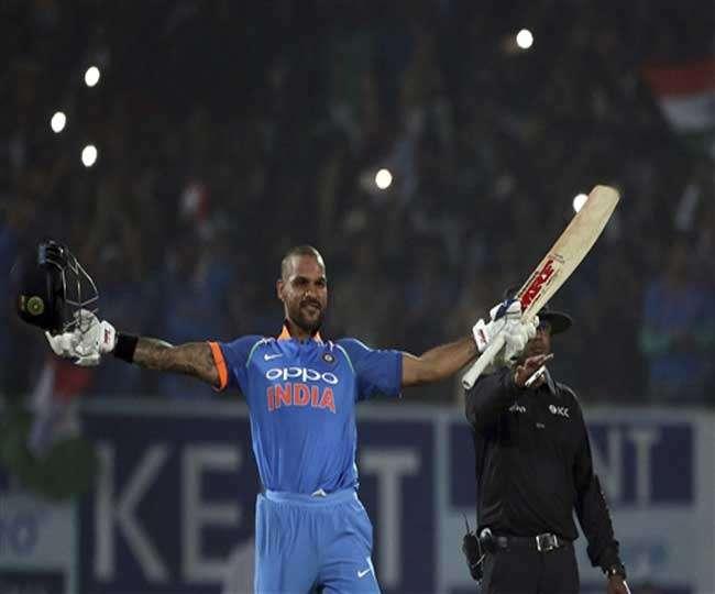 श्रीलंका के खिलाफ गरजे गब्बर, लगा दिया वनडे करियर का 12वां शतक