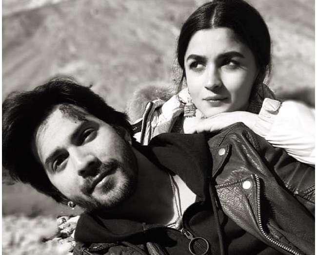 वरुण धवन ने की फिल्म कलंक की शूटिंग पूरी, आलिया भट्ट ने इस प्रकार जताई खुशी
