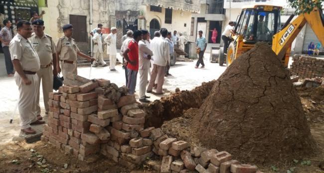 haryana news, kuruksetra, panipat, incrothment, administration removed illegal  possession of panchayat land, Haryana, Kurukshetra