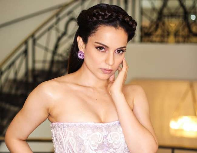 Cannes Film Festival 2019 Kangana Ranaut came wearing a beautiful Fairytale Gown