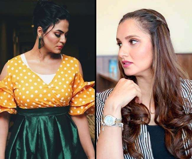 Twitter War Between Sania Mirza And Veena Malik On Pakistan