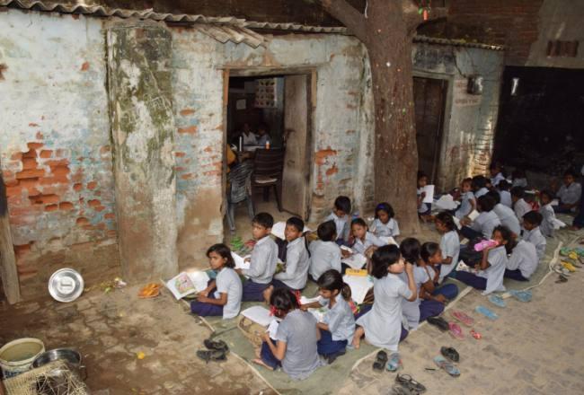 Image result for स्कूल की इमारत जर्जर