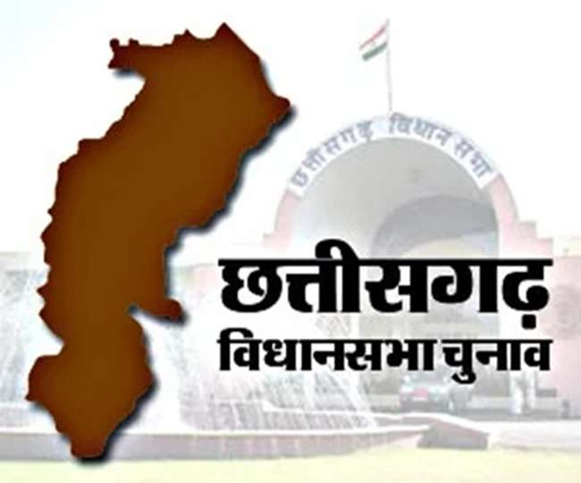 Image result for chhattisgarh chunav map