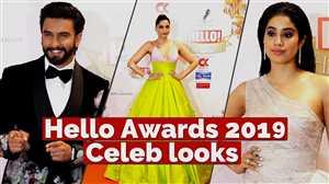 Hello Awards 2019: देखें बॉलीवुड की हसीनाओँ ने कैसे बिखेरे जलवे