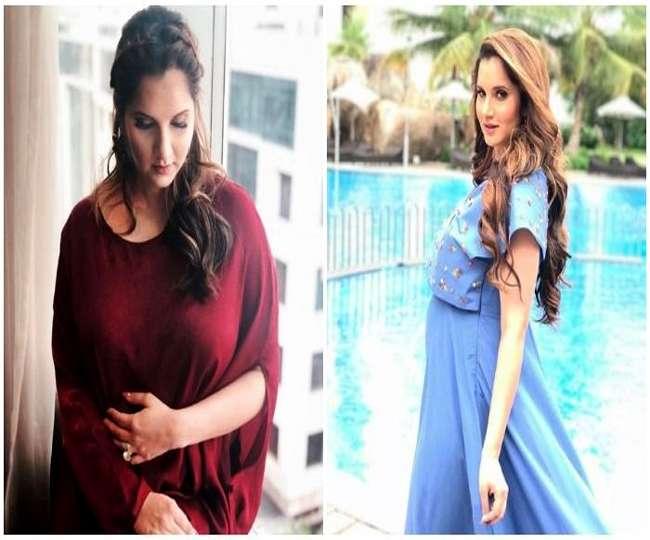 भारत-पाक मैच से पहले गर्भवती सानिया मिर्ज़ा ने किया कुछ ऐसा, चारों तरफ हो रही चर्चा