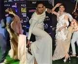 IIFA Awards 2019 में अपनी बड़ी-बड़ी ड्रेसेज से परेशान हो गईं ये अभिनेत्रियां, देखें वीडियो