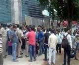 रांची में सेंट्रल मॉल से गिरकर एक व्यक्ति की मौत, मुआवजे काे लेकर परिजनों का हंगामा Ranchi News